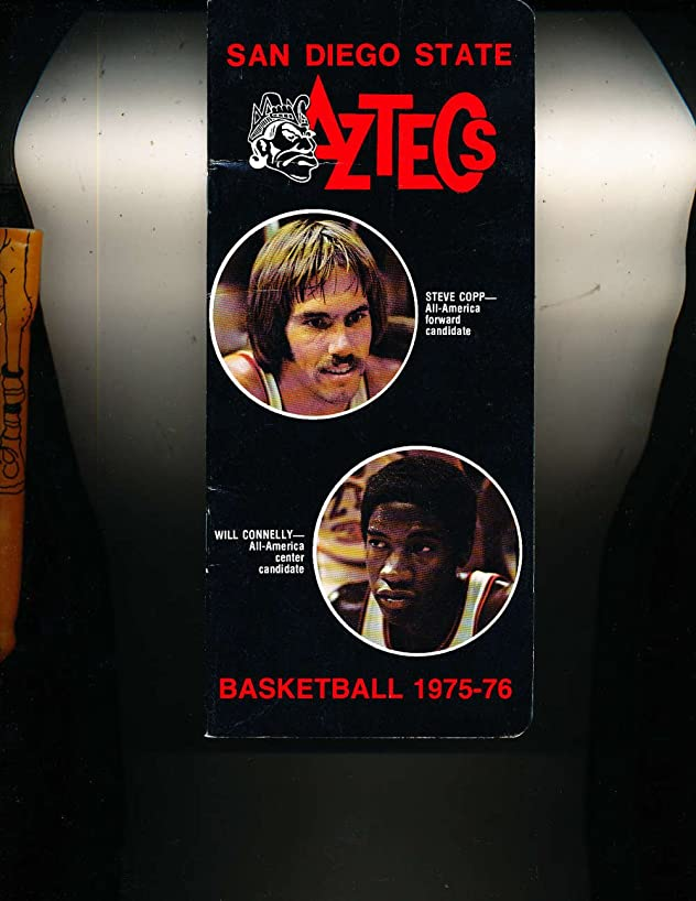 1975 San Diego State University Basketball Media Press Guide