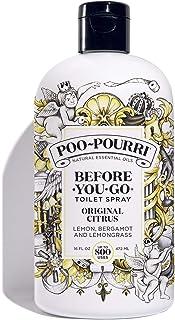 Poo-Pourri Before-You-Go Toilet Spray 16 oz Refill Bottle, Original Citrus Scent (Sprayer Not Included)