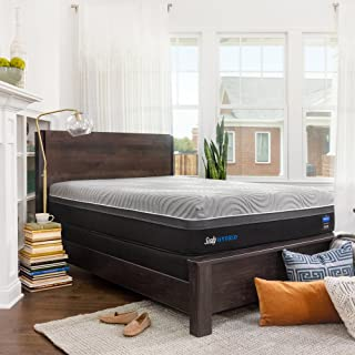 Sealy Performance Copper 13.5-Inch Firm Cooling Mattress, Queen, Made in USA, 10 Year Warranty