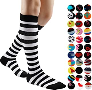 Gnpolo Womens Graduated Compression Socks 15-20 20-30...