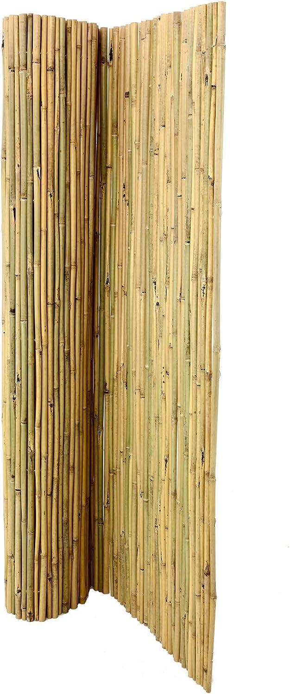 Bambus-discount  Bambusmatte Bali 180 x 300cm, extrem stabil, mit Draht druchbohrt