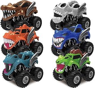 Joyin Toy - Juego de 6 ruedas de coche para camión con motor de fricción