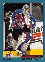 2003-04 O-Pee-Chee Hockey Card #271 David Aebischer Colorado Avalanche Official NHL Trading Card