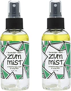 Indigo Wild: Zum Mist Lavender Mint 4 Fl Oz Set of 2
