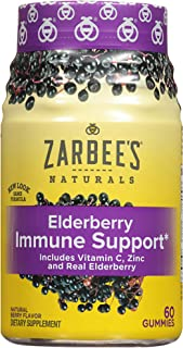 zarbee's elderberry immune support