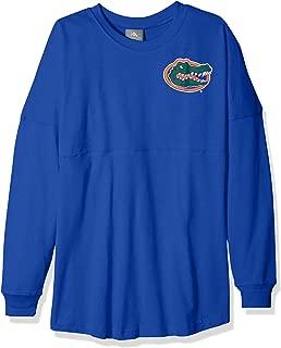 NCAA Florida Gators Womens NCAA Women's Long Sleeve Mascot Style Teeknights Apparel NCAA Women's Long Sleeve Mascot Style Tee, New Royal, Medium