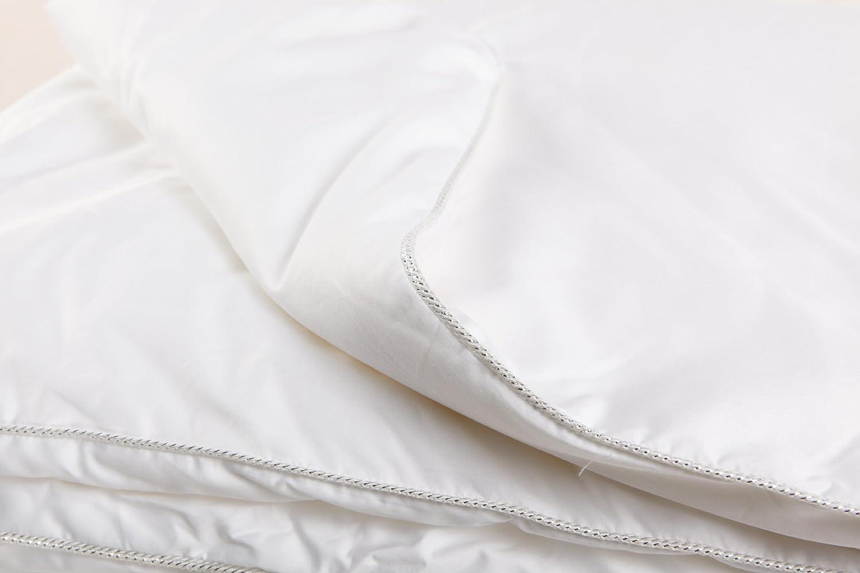 Baumwoll Baumwoll Baumwoll Satin Seiden Bettdecke  Classic , Bezug  100% BW Satin, Füllung  100% Maulbeerseide, Sommerfüllung B00EXN4GFA ab697f