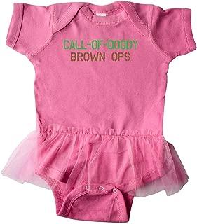 inktastic Call of Doody: Brown Ops Infant Tutu Bodysuit