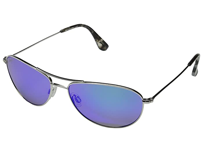 Baby Beach (Silver/Blue Hawaii) Sport Sunglasses