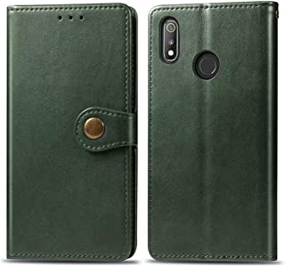 Oppo Realme 3 Pro マネースロットケース,Oppo Realme 3 Pro Book style Case,Luckyandery 財布型 マネースロットケース,Flip Case 電話ケース with Stand Funct...