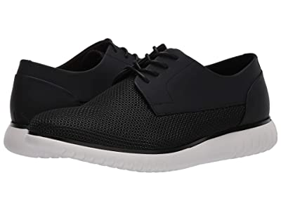Calvin Klein Teodor Diamond (Black Air Mesh/Rubberized Leather) Men
