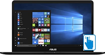 ASUS ZenBook Pro UX550VE-DB71T 15.6 inch FHD Touch Laptop PC (Intel i7-7700HQ Quad Core, 16GB RAM, 512GB SSD, GTX 1050Ti, 15.6