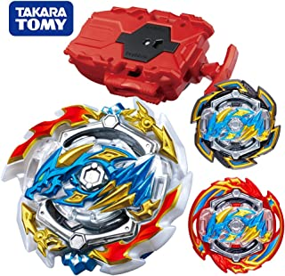 Beyblade Burst GT Starter B-133 ACE Dragon.st.Ch, Real Beyblades Stater Set with B-108 Bey String Launcher Red High Performance Battling Top