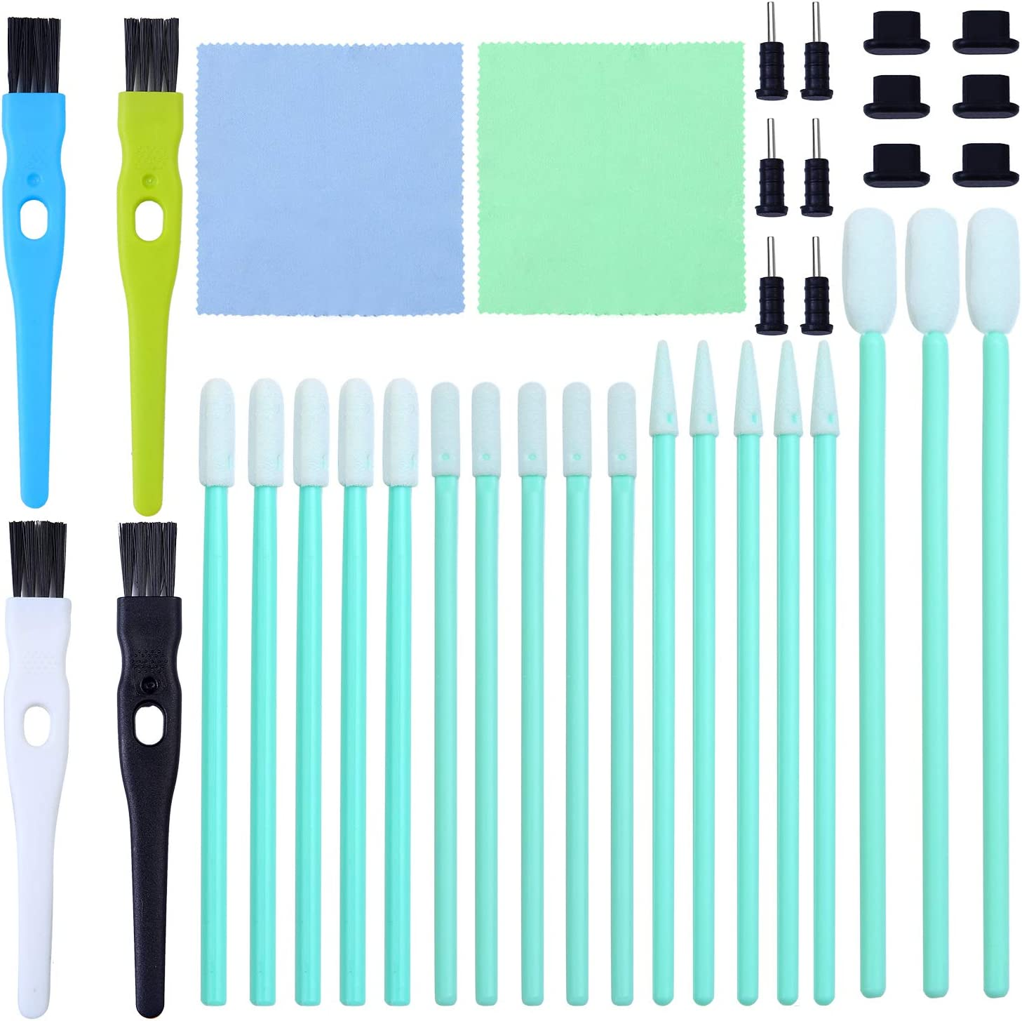 Aneco Genuine Free Shipping 58 Pieces Cell Phone Cleaning Kit Brush Set P 70% OFF Outlet USB Charging