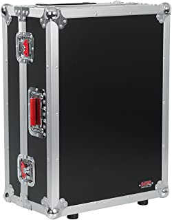 Gator Cases G-TOUR ATA Style Road Case - Custom Fit for Allen and Heath QU16 Mixer with Built in Wheels and Retractable Tow Handle; (G-TOURQU16)