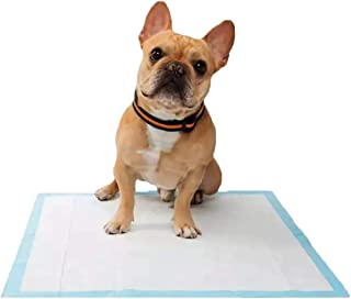 Goofy Tails Puppy Training Pads for Dogs [ L60 X W45cm -25 Pieces] | High Absorption Pee Pads for Dogs |Quick Drying Pet P...
