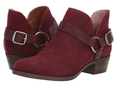 Lucky Brand Bernaeh (Dark Red) Women