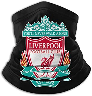 Liverpool FC, Real Madrid Soccer Team Face Mask, Windproof Mouth Cover, UV Protection Magic Scarf For Men & Women
