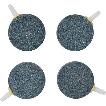 Pawfly 1.6 Inch 4-8 PCS Air Stone Bubble for Aquarium Fish Tank Hydroponics Pump Ceramic Airstones Diffuser