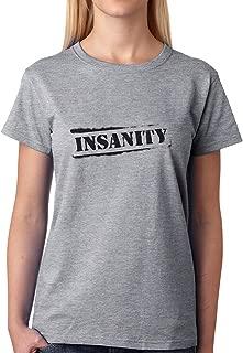 Insane Insanity Logotype Womens T-Shirt
