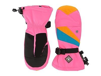 Spyder Kids Couloir GTX (Little Kids/Big Kids) (Bryte Bubblegum) Extreme Cold Weather Gloves