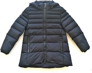 Herno Junior PI0028G11106 - Chaqueta de plumón con Capucha laminada para niña, Color Negro