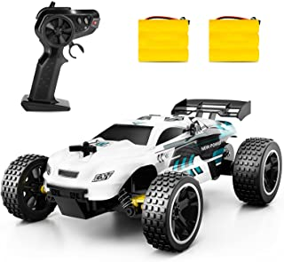 (B) - RC Racing Car, 2.4Ghz High Speed Remote Control Car, 1:18 2WD Toy Cars Buggy for Boys & Girls with Two Rechargeable ...