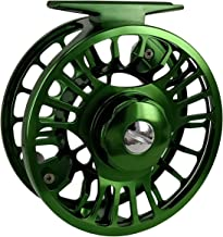 Riverruns Z Fly Fishing Reel Super Light CNC Machined Second Generation Sealed Carbon Disc Super Larger Arbor 3/5, 5/7, 7/9 Ideal Both Fresh Water & Saltwater Fly Fishing