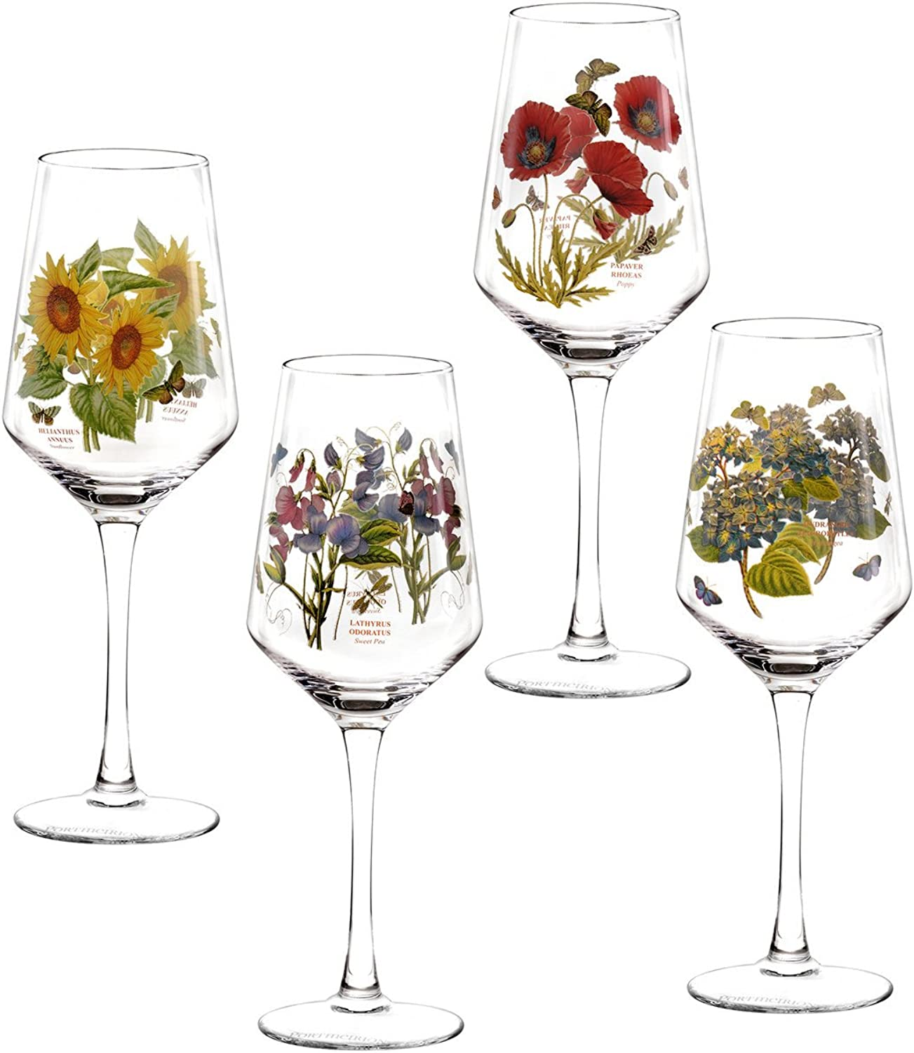 Portmeirion Botanic Garden Set of 4 Wine Glasses