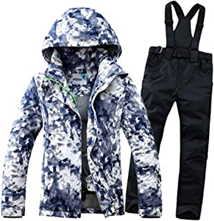 Winter Waterproof Windproof Thicken Warm Snow Clothes Women Men Ski Sets Jacket Skiing and Snowboarding Suits