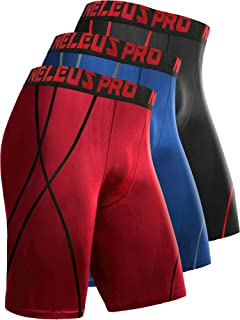 Men's 3 Pack Performance Compression Shorts