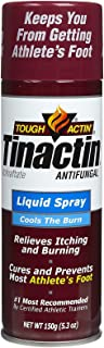 Tinactin Antifungal Liquid Spray for Athlete's foot-5.3 oz.