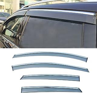 Outside Mount Window Visor Wind Guard 4pcs 2012-2016 Ford Focus MKIII 5DR Wagon