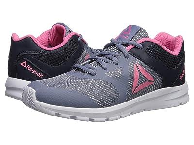 Reebok Kids Rush Runner (Little Kid/Big Kid) (Indigo/Navy/Pink) Girls Shoes
