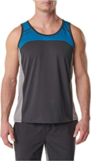 5.11 Tactical Men's Polyester Anti-Odor Max Effort Sleeveless Top, Lunar, Style 82112