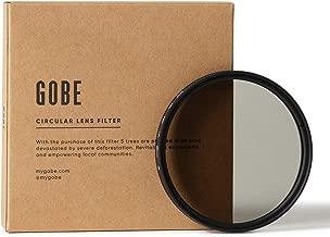 Gobe 49mm Circular Polarizing  CPL  Lens Filter  1Peak