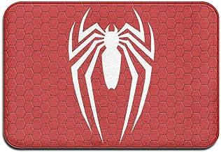 Large Puzzle Spiderman Tapis de bain en caoutchouc antidérapant pour sol de douche, salon et buanderie 60 x 40 cm