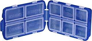 Lewis N. Clark Luggage Eight Day Pill Box, Blue