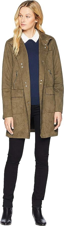 Snap Front Coat