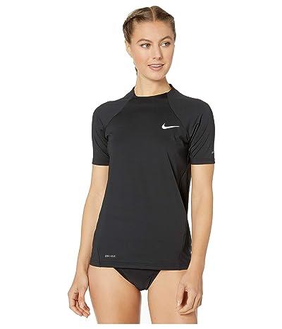 Nike Essential Short Sleeve Hydroguard (Black) Women