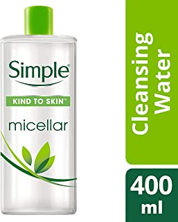 Simple Micellar Cleansing Water, 400ml
