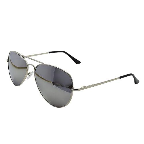 6bd6837089 ASVP Shop® Silver Mirror Sunglasses   Cloth Case Uv400 Designer Men s  Ladies Shades