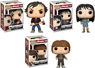 Pop! Movies The Shining Jack Torrance, Wendy Torrance, Danny Set of 3