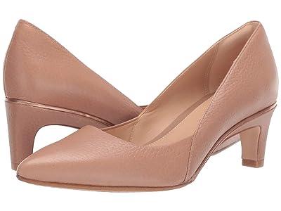 Clarks Ellis Rose (Praline Leather) High Heels