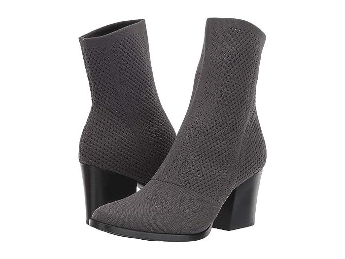 Born  Meggs Too (Dark Grey Knit Fabric) Womens  Boots