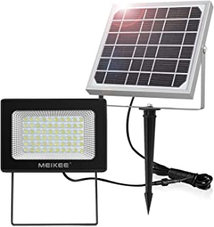 Luz Solar Led para Exterior, MEIKEE Foco Solar Jardín 300LM