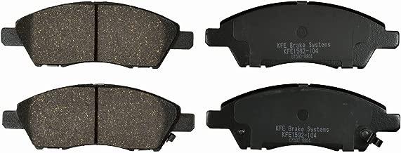 Premium Ceramic FRONT Brake Pad Set KFE Ultra Quiet Advanced KFE1592-104