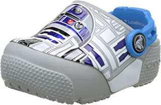 Crocs Kids' Fun Lab Light-Up R2D2 Clog