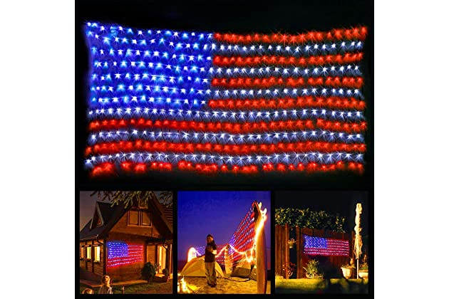 Patriotic Christmas Lights.Best Patriotic Decorations For Outside Amazon Com