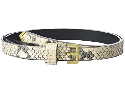 AllSaints 18 mm Metal Tip Belt (Nude) Women